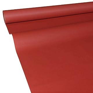 JUNOPAX 60047294 Papiertischdecke 50m x 1,30m rot nass- und wischfest