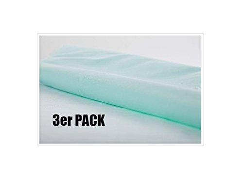 3er Set Welpenunterlagen, Welpen, Unterlagen, Schutzmatte für Körbchen oder Auto, ideal für die Welpenaufzucht, Urinschutz, Top-Qualität, 5-lagig CA3305