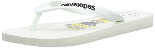 Havaianas Minions, Infradito Unisex-adulto, White, 45/46 EU (43/44 BR)