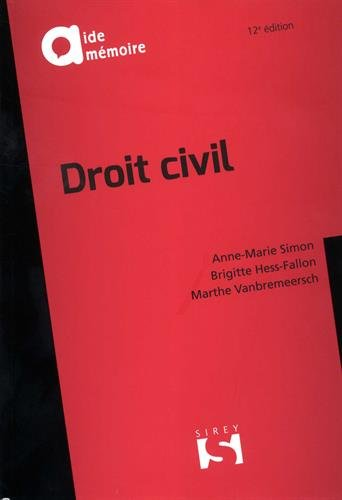 Droit civil - 12e éd. par Anne-Marie Simon
