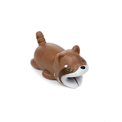 Preisvergleich Produktbild Kabel Protector Datenkabel Kabelschutz Tier USB-Kabelschutz Kabel Biss für Typ C USB Ladekabel Brauner Hund