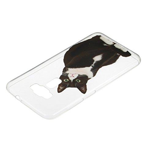WYSTORE Etui Ultra Mince Housse Silicone Transparent pour Asus Zenfone 3(ZE520KL) Coque de Protection en TPU avec Absorption de Choc Bumper et Anti-Scratch (5.2 Pouces) - A03 A09