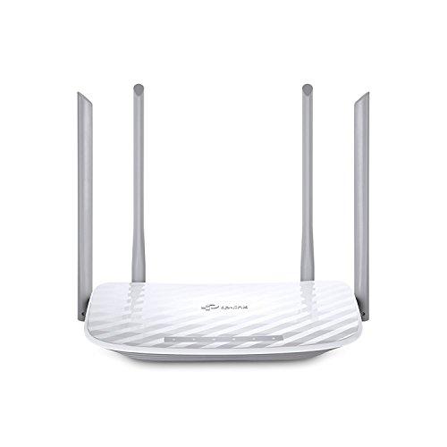 TP-Link Archer C50 V3.0 AC1200 Dualband WLAN Router(für Anschluss an Kabel-/DSL-/GlasfaserModem, 300 Mbit/s(2,4GHz)+867 Mbit/s(5GHz), App Steuerung, IPv6, Print/Media/FTP Server)