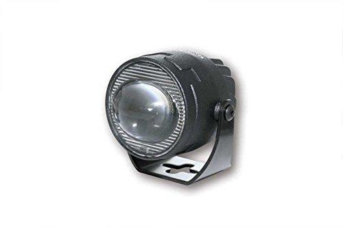 Highsider Motorrad-Scheinwerfer Satellite 44mm LED-Abblendscheinwerfer Wide Led