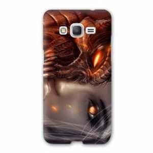 Coque Samsung Galaxy Grand Prime Fantastique - - ange demon masque N