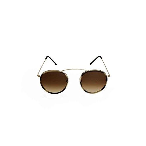 Spektre met-ro 2 occhiali da sole uomo donna alta protezione tabacco