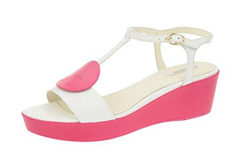 Geox Nouvelle - Damen Sandalette - weiß pink