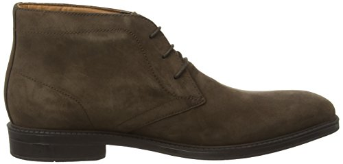 Clarks Chilver Hi Gtx, Boots homme Marron (Dark Brown Nub)