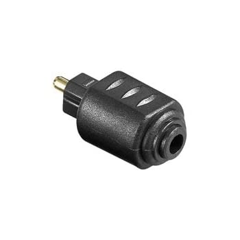 Audio Adapter Toslink Buchse auf 3.5mm optischer: Amazon