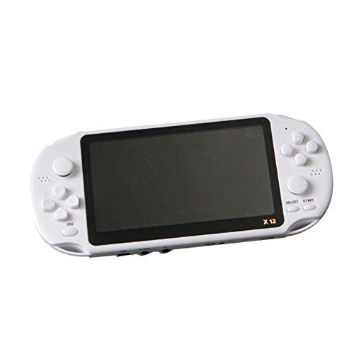 Funihut Spielekonsole, Lerngerät, Spielekonsole, Spielekonsole, für Kinder, Spielmaschine, NES 5.1 Zoll, Handheld Game Player X12 8 G (Spiele Handheld Karte Elektronische)