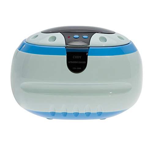 XIAO J Ultraschall-Schmuck-Reiniger mit 3 Minuten automatische Timing-Funktion 600ml Kapazität ultra-leise für die Reinigung von Schmuck-Brillen Zahnspange Zahnschmuck Schmuck Hause Ultraschall-Reinig