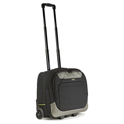 """Targus CityGear Laptop Roller Bag / Suitcase / Trolley Best for Business Travel, fits laptops up to 17.3"""" – Black/Grey"""