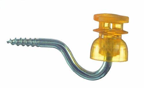Schlitz Isolator für Weidezaun, Typ C 161 - 25er Beutel