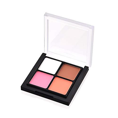 Demarkt 4-Farben Kosmetische Perle Lidschatten Creme Make-up Palette Schimmer Set