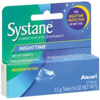 Systane Nighttime Lubricant Eye Ointment, 0.123 Ounce