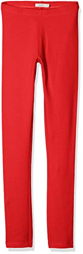 NAME IT Mädchen Leggings NKFDAVINA Sweat NOOS, Rot (True Red), 146