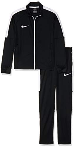 e82e7e625 Nike Dry Fit Academy Chándal, Niños, Negro (Black/White/White/