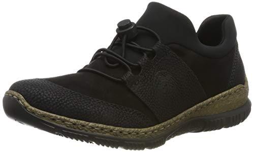 Rieker Damen N32X8-00 Sneaker, Schwarz 00, 39 EU