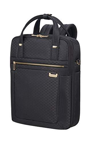 SAMSONITE Uplite - Three-Way Laptop Expandable Rucksack, 40 cm, 18 Liter, Black/Gold -