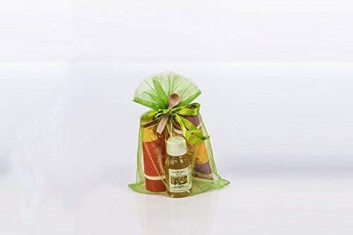 Sauna-Geschenkset für Frauen (Honigcremes