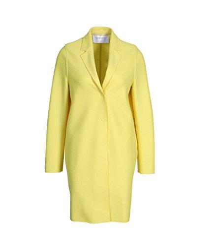 Harris Wharf London Damen Mantel Cocoon Aus Schurwolle in Gelb 219 Yellow 42