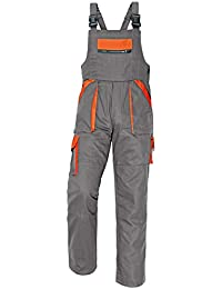 46c39c2f9cf Amazon.co.uk  Grey - Dungarees   Coveralls   Work Utility   Safety ...