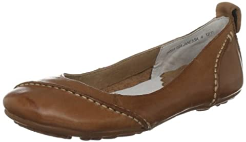 Hush Puppies Janessa, Women's Ballet Flats, Brown (Tan Leather), 9 UK (43 EU)