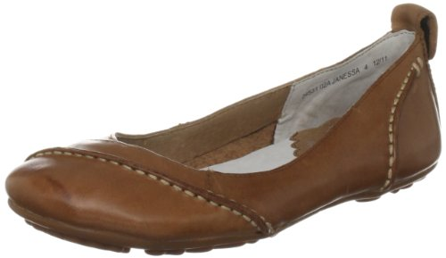 Hush Puppies Janessa, Women's Ballet Flats, Brown (Tan Leather), 5 UK (38 EU)