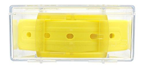 tie-ups Cintura in gomma e plastica fuori produzione II^ scelta Italia Giallo