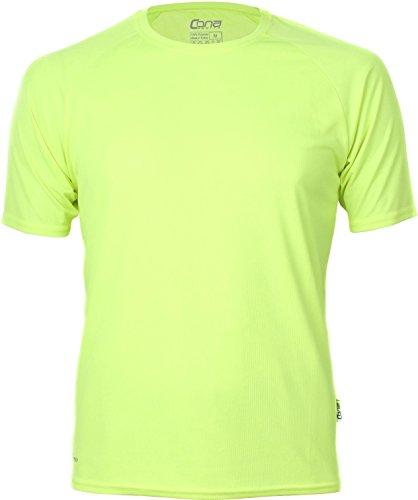 Basic Funktions - Sport T-Shirt in vielen Farben Farbe Neon Yellow Größe S