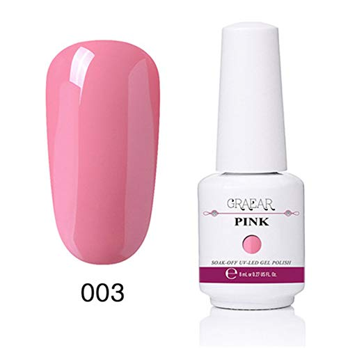 CHOULI 003 Cat Eyes Gel Magnetic Chameleon Gel Nail Polish LED Nail Polish 3 Pink