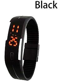 Orologio da polso da uomo in silicone con bracciale touch screen a LED per  bambini