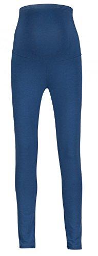 571089a10 Para mujer premama leggings banda elástica para la barriga. 975p (Azul