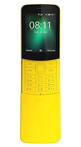Nokia 8110 Cellulare da 4 GB Marchio Tim, Giallo, [Italia]