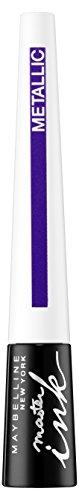 Maybelline Master Ink Metallic Eyeliner Nr. 32 Twilight Purple, Flüssig-Eyeliner für den...
