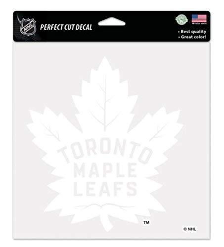 Wincraft Snack-Schale NHL Toronto Maple Leafs 8x 8Perfekten Schnitt Weiß Aufkleber Nhl-aufkleber
