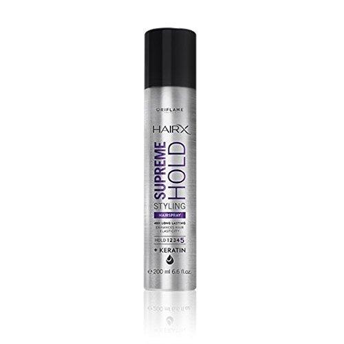 Hooriyas Oriflame Men&Women HairX Supreme Hold Styling Hairspray