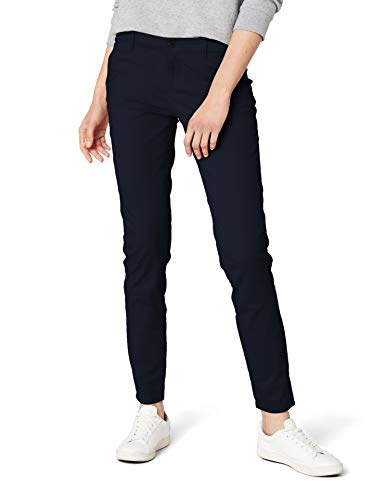 ONLY Damen Chino Hose onlPARIS LOW SKINNY CHINO PANTS PNT NOOS, Blau (Navy Blazer), W36/L34