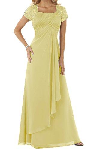 Ivydressing - Tailleur-robe - Trapèze - Femme Jaune