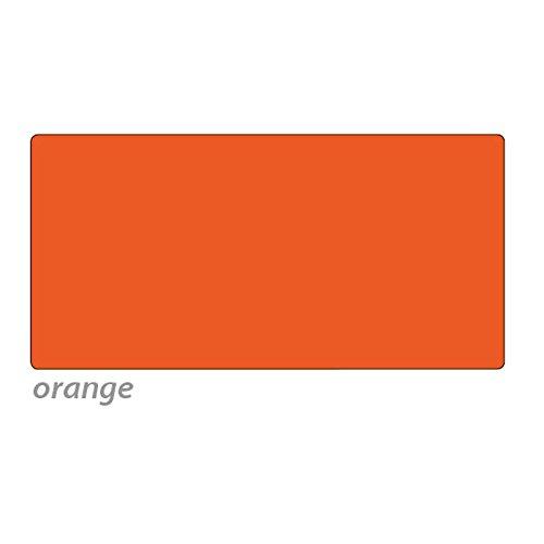 Tonpapier, 50 x 70 cm, 10 Bg., orange - Bastelpapier Bastelkarton Tonkarton