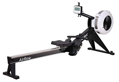 Maxxus - Vogatore AirRow, azionamento ad aria, a catena, regolabile su 9 posizioni, peso utente 150 kg