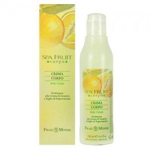 Frais Monde Spa Fruit Crema Corpo E Arancione Peperoncino 200 ml