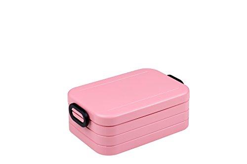 Mepal Lunchbox Take A Break Midi - Plastik, Nordic Pink, 18.5 x 12 x 6.5 cm, 1 Einheiten
