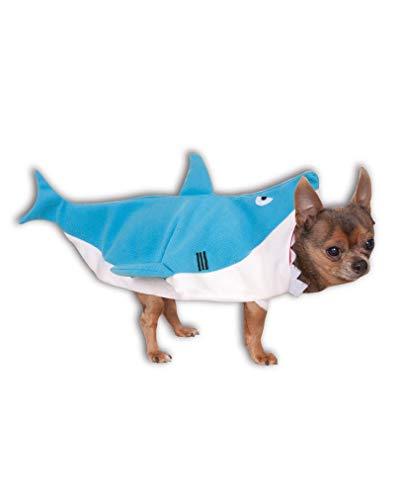 Horror-Shop Hai Hunde-Kostüm M (Hai-kostüm Hund)