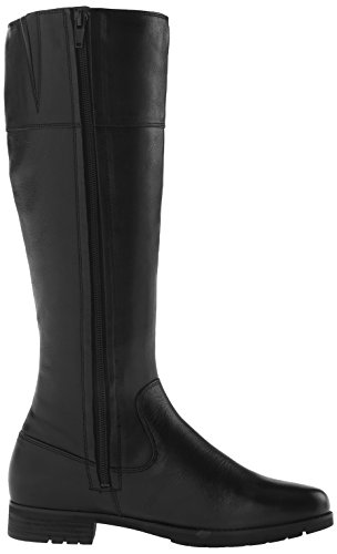 Rockport Tristina Rosette Tall Large Cuir Botte Black