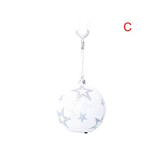 MAyouth LED Weihnachtskugeln Licht, Outdoor Kristall Weihnachtsdekoration Licht Wasserdichte Lichter Dekorative für Weihnachtsbaum Garten Home Hochzeit Party Urlaub