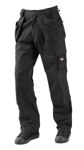 """Lee Cooper Workwear, Pantaloni da lavoro con tasconi laterali Uomo, taglia 38"""", colore: Nero LCPNT216"""