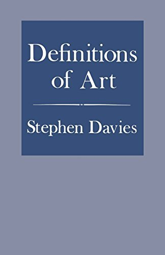 Definitions of Art: The (Life)Styles of Lou Andreas-Salom by Stephen Davies (2000-09-05)