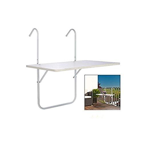 Mesa de balcón aprox. 60 x 40 cm: Amazon.es: Jardín