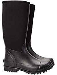 978a012f934 Mountain Warehouse Neoprene Mucker Casual Mens Wellies - Waterproof Rain  Boots